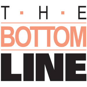 The bottom line poster