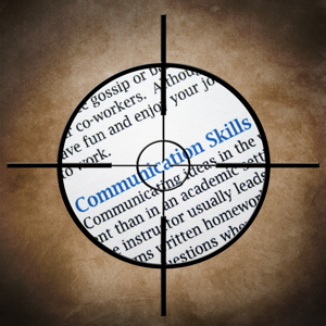 Communication skills target