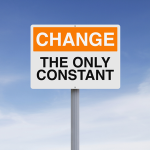 A conceptual sign on change