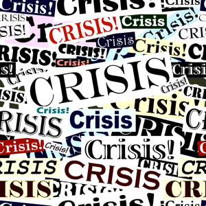 Tile of crisis headlines