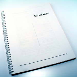 Spiral bound document
