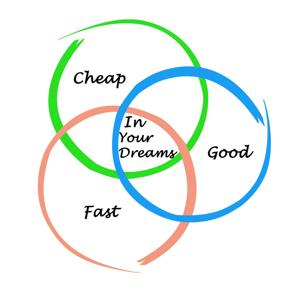 Good, Fast, Cheap: Pick 2