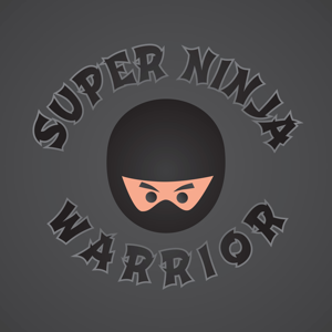 Ninja Warrior design illustration