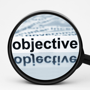 Magnifying the word Objective