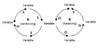 causal loop diagrams (CLD)