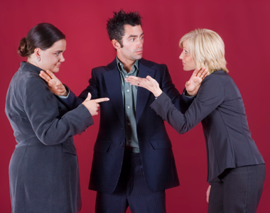 Office conflict between two women