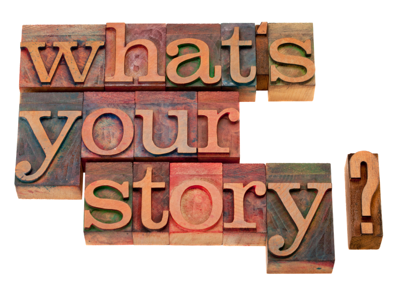 What's your story question in vintage wooden letterpress printing blocks